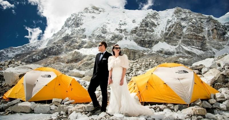 11 couples de voyageurs qui ont choisi de se marier dans des endroits insolites