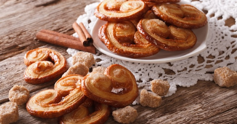 biscuits palmiers