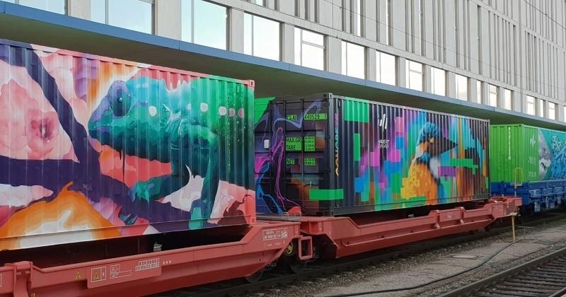 Le train de Noé : la plus longue oeuvre d'art mobile arrive à Paris pour sensibiliser à la cause environnementale