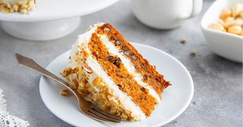 Pour Halloween préparez un Pumpkin Cake, le Carrot Cake revisité à la citrouille!