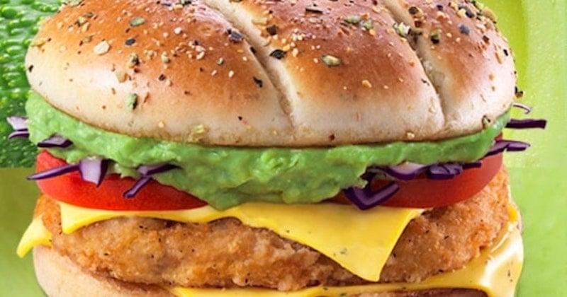 Mcdonald's fait sensation en dévoilant un burger à l'avocat