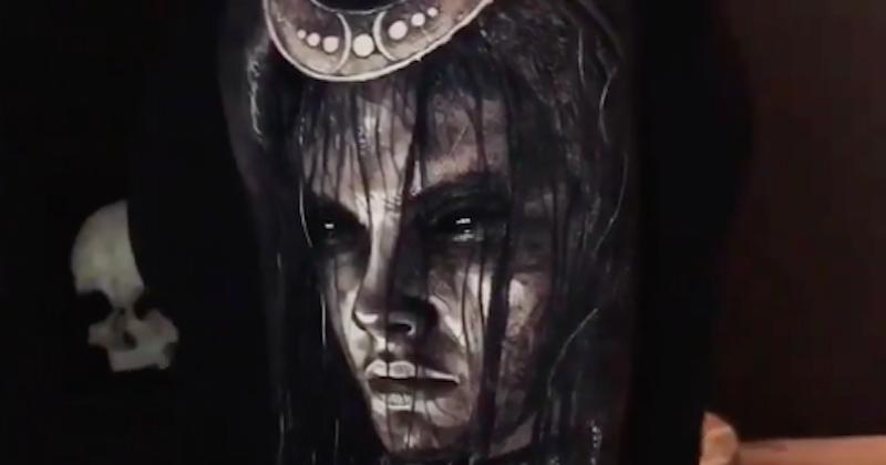 Eliot Kohek, le travail de ce tatoueur est extraordinaire !