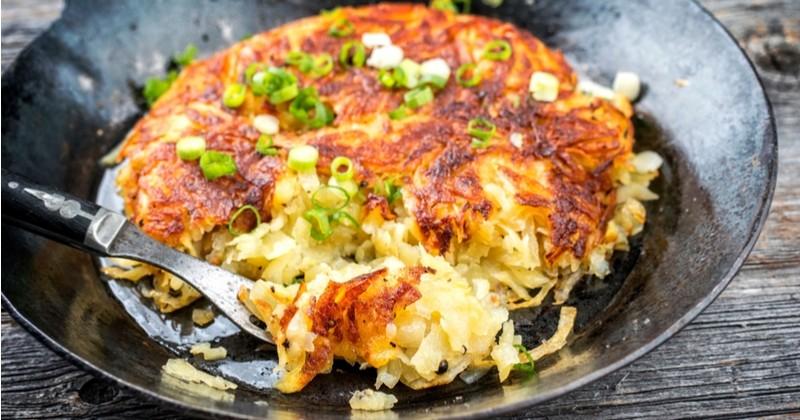 Essayez les rösti, les galettes de pommes de terre fondantes et gourmandes!
