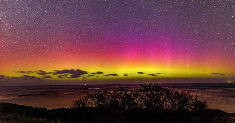 Australie : Les clichés des aurores australes de Philip Dubbin vont vous donner envie de voyager tout de suite