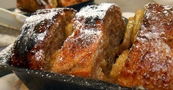 Ne jetez pas votre pain rassis... faites-en un délicieux gâteau au pain perdu !