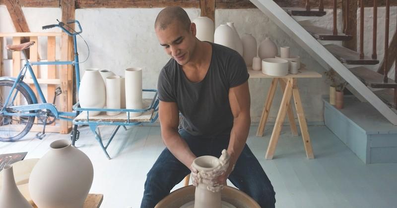 Eric Landon sublime l'art de la poterie