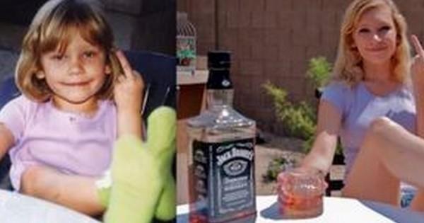 20 photos de famille avant/après, ou comment immortaliser le fait que ses enfants grandissent trop vite…