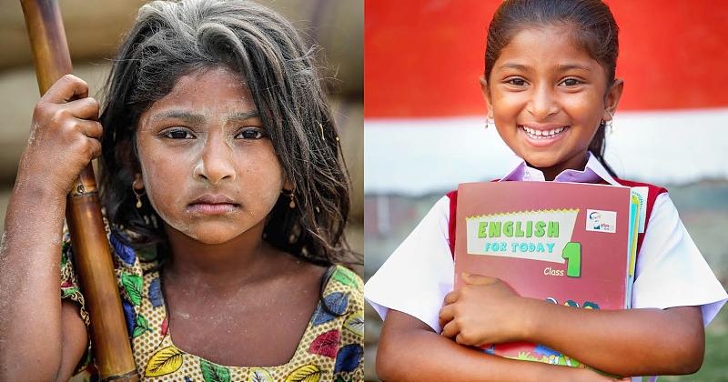 Bangladesh : ce photographe aide les enfants travailleurs à changer de vie en les scolarisant