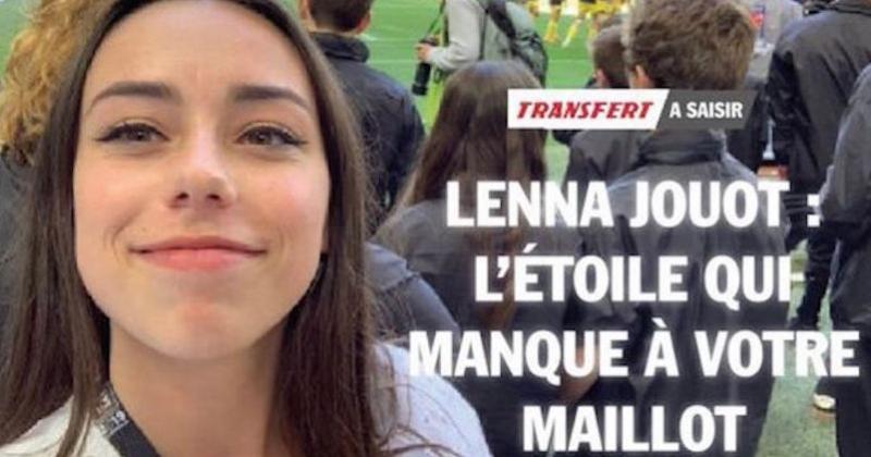 Une étudiante en marketing sportif réalise un CV génial inspiré du journal L'Equipe