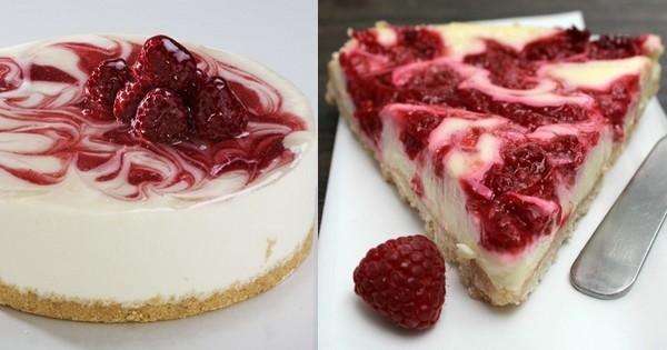Résisterez-vous à ce cheesecake aux framboises? Pas si sûr... Vous voulez parier?
