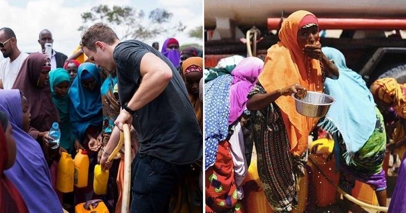 Jérôme Jarre, la star française des réseaux sociaux, a livré 60 tonnes de nourriture en Somalie pour aider la population victime de famine