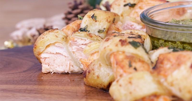 Couronnez le roi des poissons pour les fêtes de fin d'année avec le saumon feuilleté!