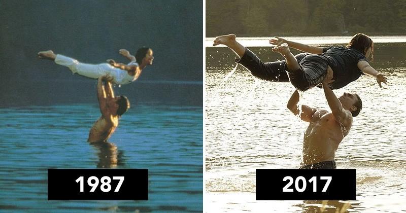 1987 VS 2017 : Johnny Castle et Bébé de «Dirty Dancing» ont bien changé pour le remake télévisé du film culte: voici les premières images !