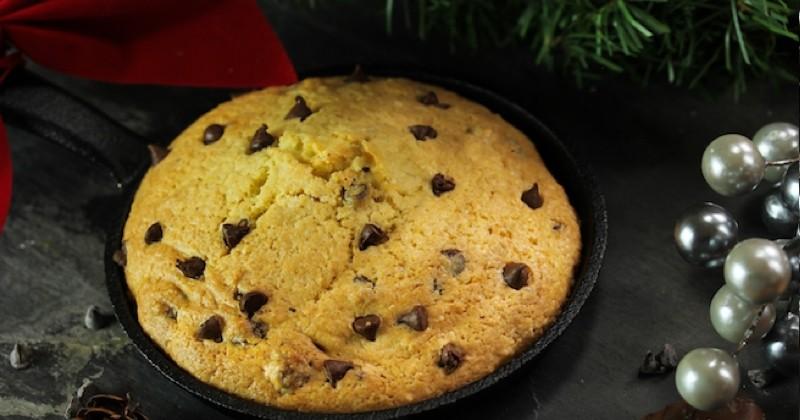 cookie géant à la poêle
