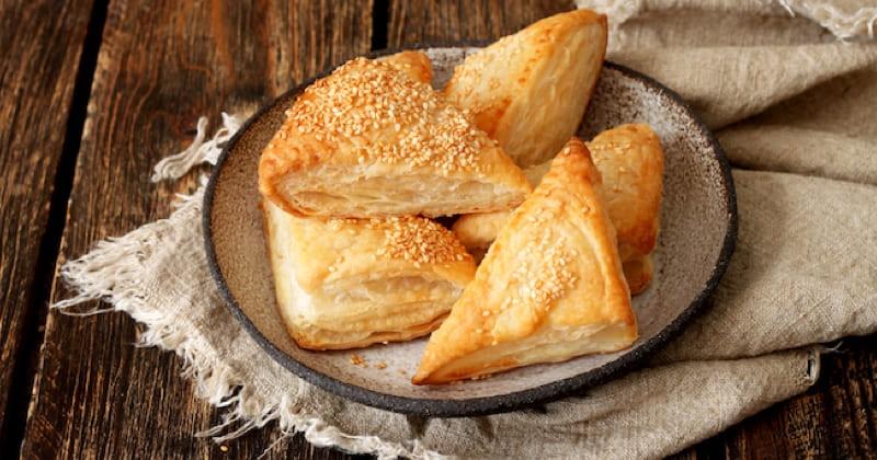friand au fromage de chèvre et noix