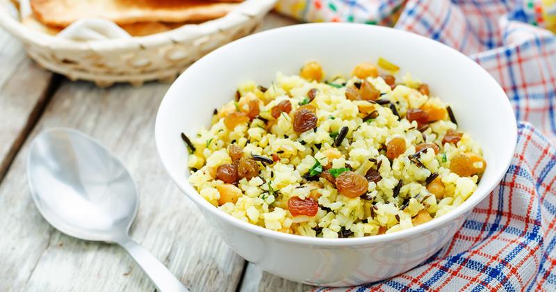 Salade de riz à l'oriental Recette