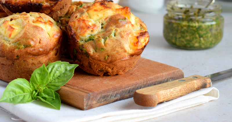 Muffins au chou kale et patate douce Recette