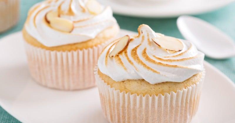 Cupcakes meringués Recette