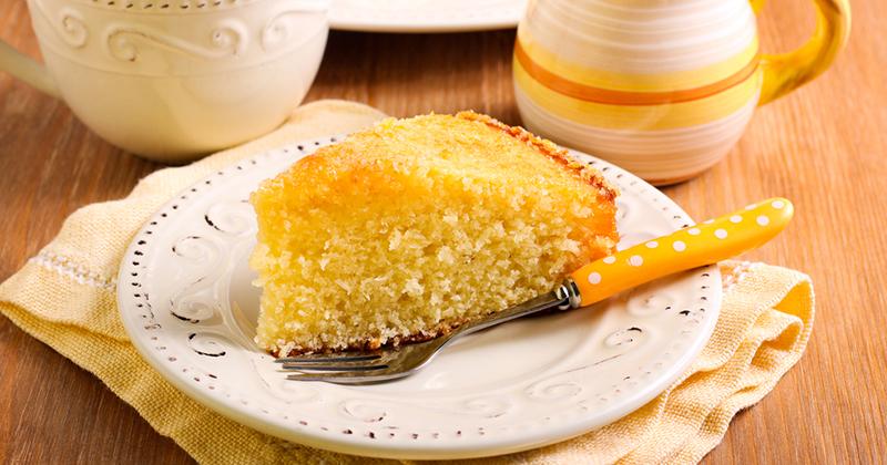 Gâteau express au citron vert et à la noix de coco