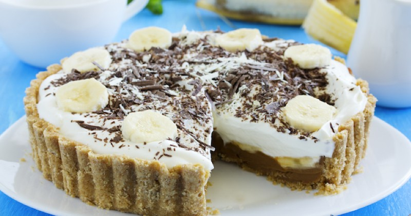 tarte chocolat banane et ricotta
