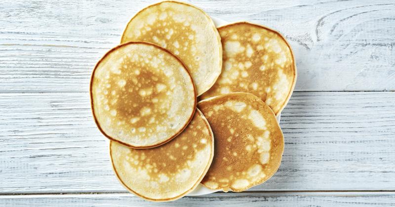 Pancakes healthy à la compote