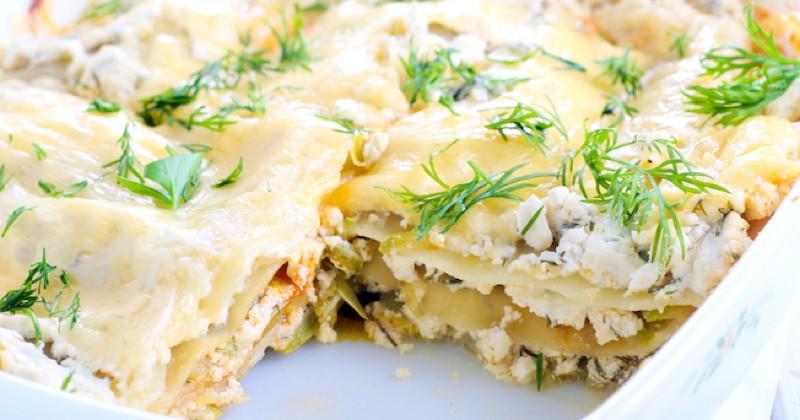 lasagnes de courgettes et ricotta