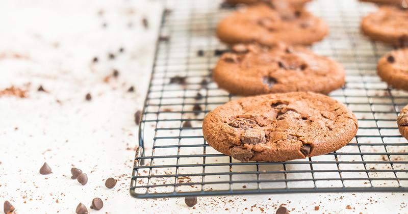 Cookies au café et chocolat