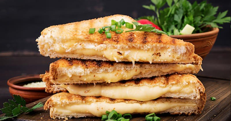 Panini 4 fromages Recette