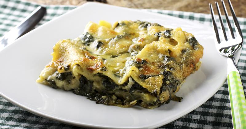Lasagnes à la ricotta et aux épinards
