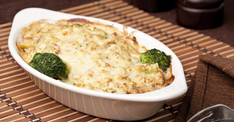 Lasagnes aux brocolis et lapin
