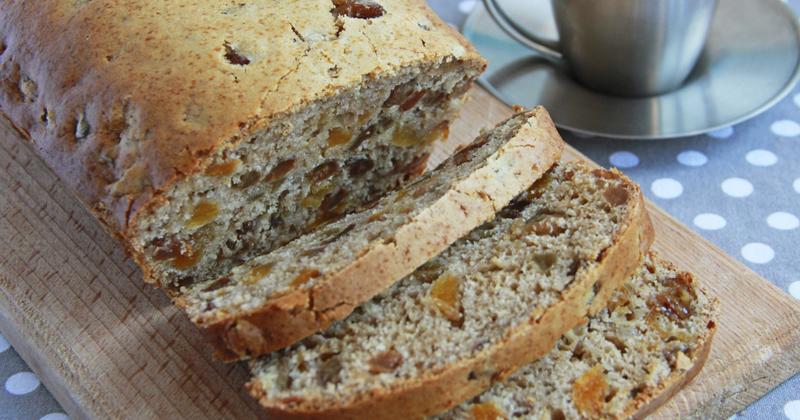 Cake healthy aux fruits secs