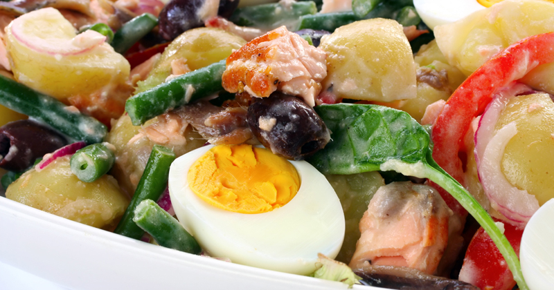 Salade niçoise gourmande Recette