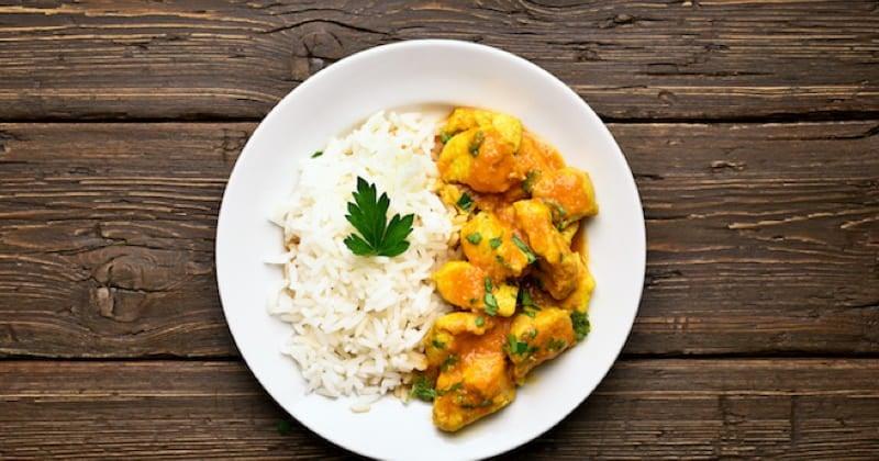 poulet au curry et patates douces