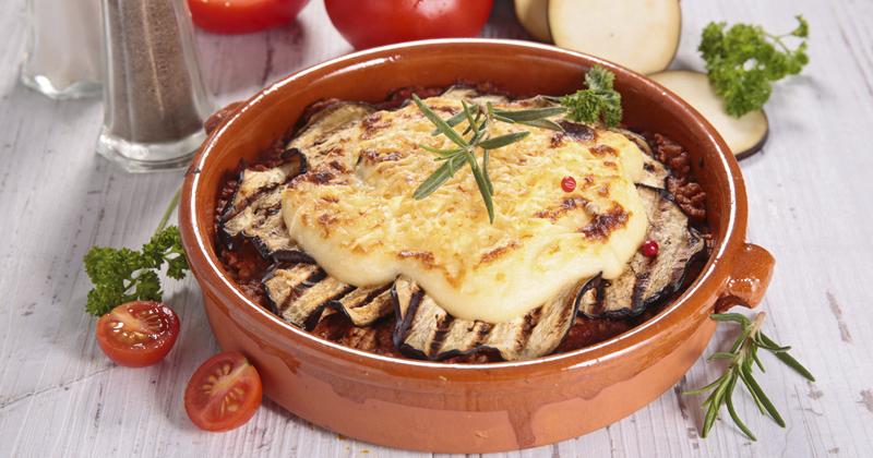 Moussaka au fromage