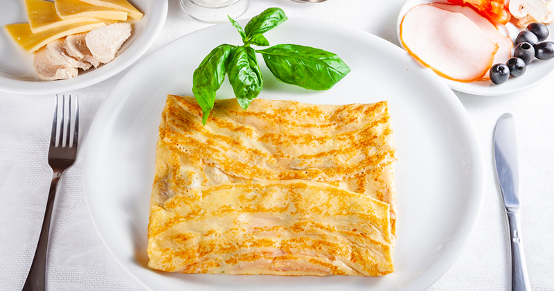 Des crêpes au foie gras et à la confiture de figues pour se régaler !