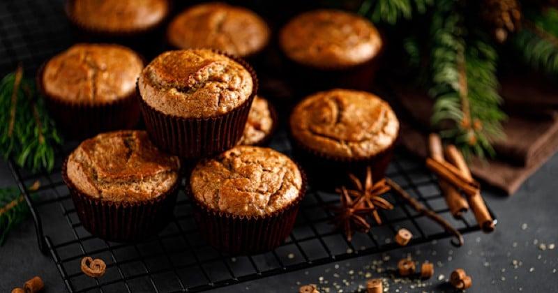 Pour les fêtes de fin d'année, réservez-vous quelques muffins à la cannelle