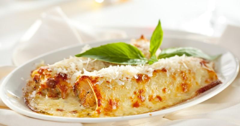 Cannelloni au poulet  Recette