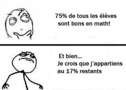 blague maths
